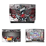 Decalrus - Protective Decal Skin skins Sticker for 2015 Alienware R3 17 (17.3