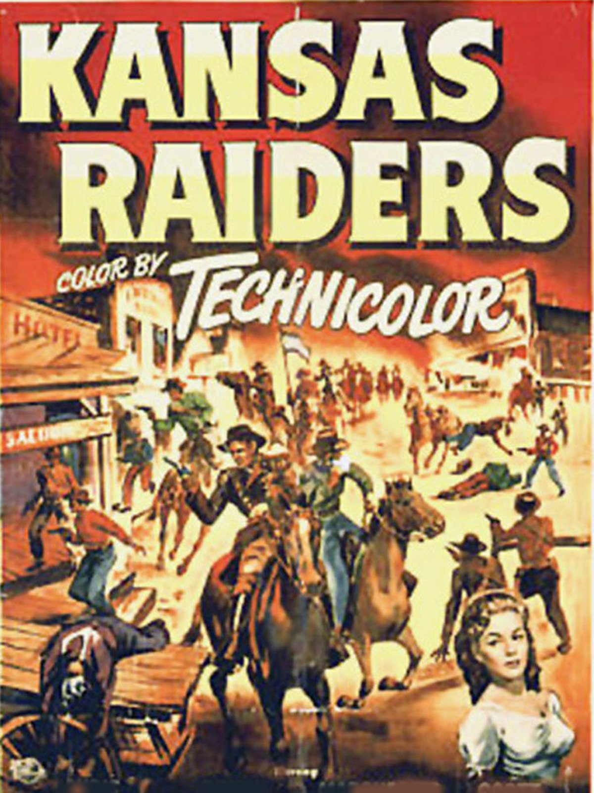 Kansas Raiders on Amazon Prime Video UK