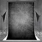 Kate 5x7ft Black Abstract Photography Backdrop Seamless Photo Background Muslin Booth Backdrops for Photography Props(With pocket, After ironing, the effect is better) (Color: style7, Tamaño: 5x7ft)