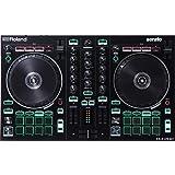 Roland Two-channel, Four-deck Serato DJ Controller with Serato DJ Pro upgrade (DJ-202) (Color: Black, Tamaño: one size)