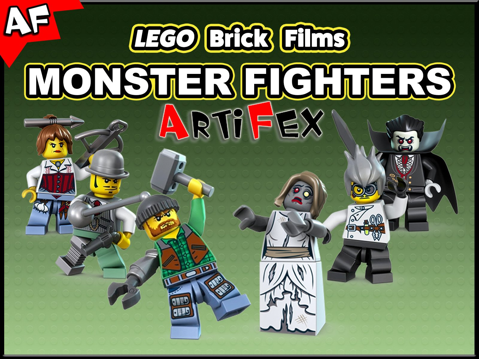 Clip: Lego Brick Films Monster Fighters - Season 1