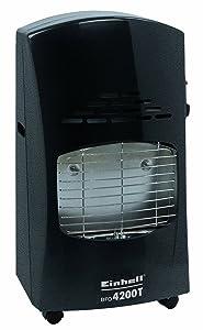 Einhell BFO 4200 T Blue Flame Gasheizofen, 4,2 kW, inkl. Piezozünder, Gasdruckregler (Außenbereich), Gasschlauch u. 5stufiges Thermostat  BaumarktÜberprüfung und Beschreibung