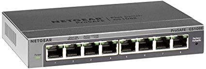NETGEAR PROSAFE PLUS SWITCH 8-PORT