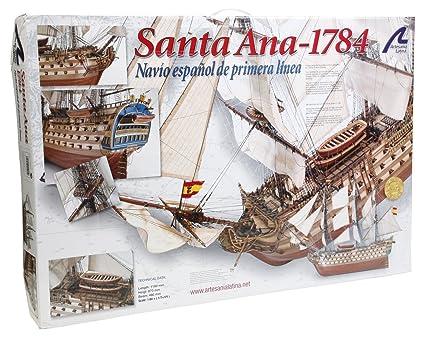 Maquette en bois - Navio Santa Ana