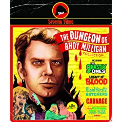 The Dungeon Of Andy Milligan Collection (9-Disc Collector's Edition) [Blu-ray + CD] [Blu-ray]