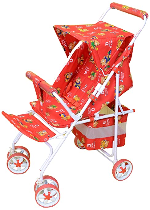 Mothertouch Avon Pram (Red)