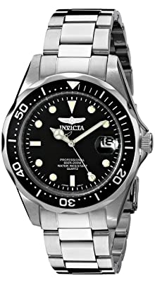 Invicta 8932 Pro Diver Collection Silver-Tone Watch