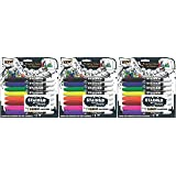 Sharpie 1779005 Stained Fabric Markers, Brush Tip, Assorted Colors, 8-Count - 3 Pack