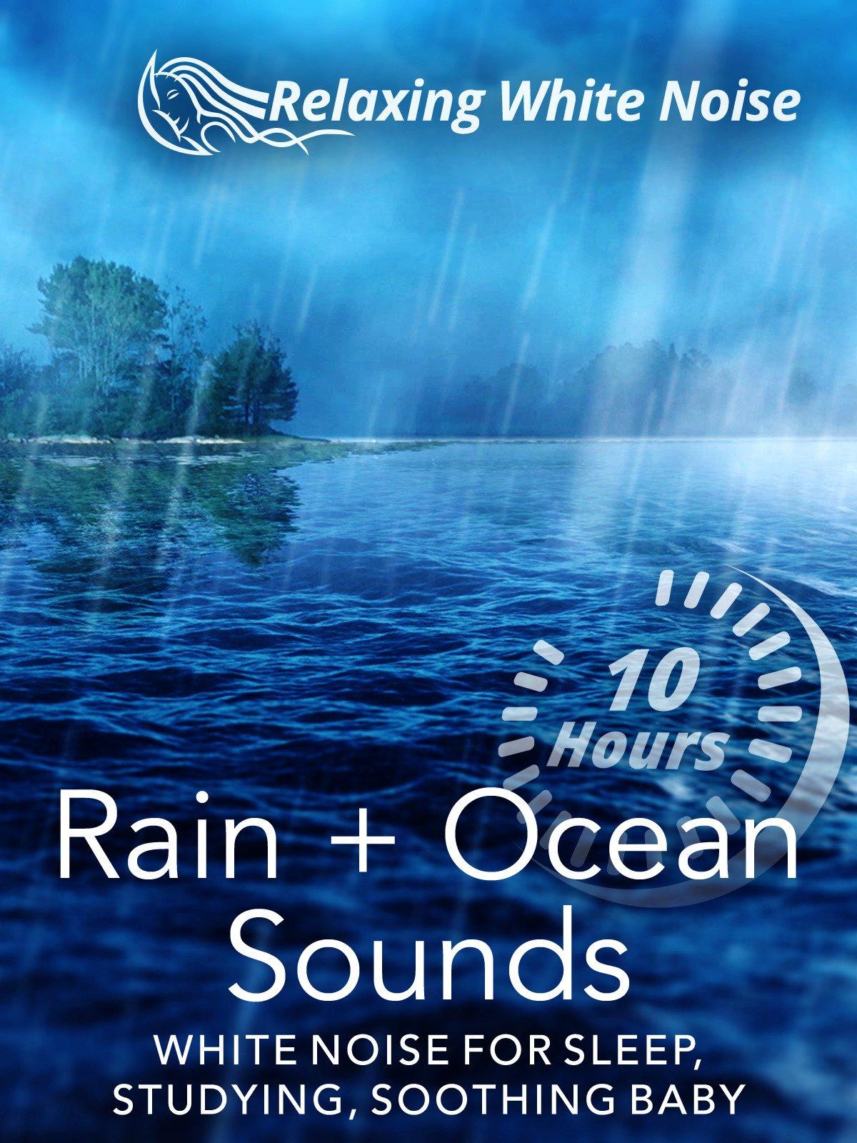 Rain + Ocean Sounds 10 Hours