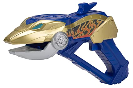 Bandai - 43536 - Power Rangers - Star Shooter Ninja Steel - Bleu