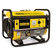 Champion Power Equipment 42436 1500-Watt Portable Generator CARB Compliant