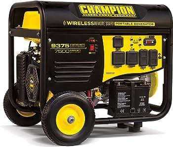 Champion 100161 7500W Portable Generator