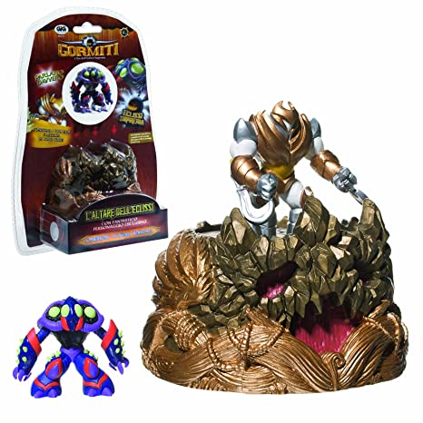 Giochi preziosi - Gormiti - 7555 - Figurine Accessoire - Trône des Guerriers Interactif + Figurine