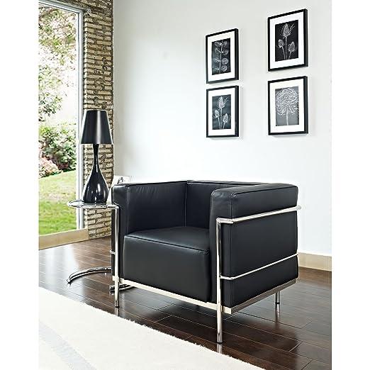 Charles Grande Armchair, Black