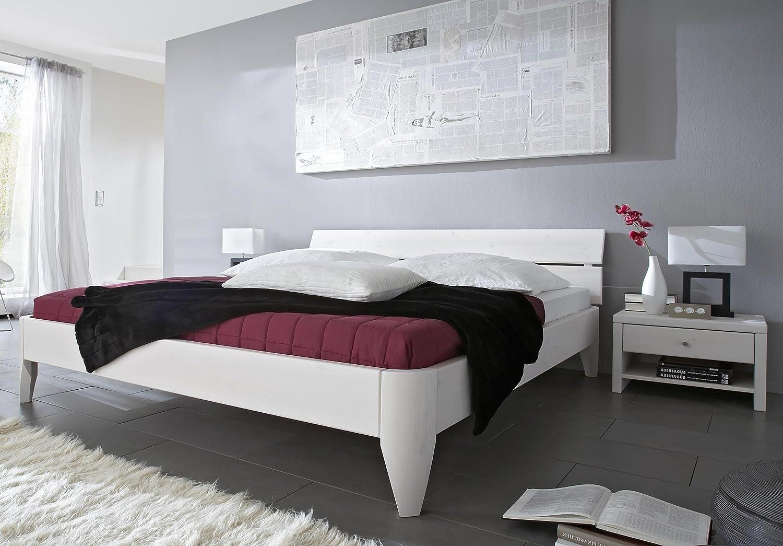Stilbetten Bett Holzbetten Massivholzbett Texas Eiche (geölt) 180×200 cm günstig kaufen