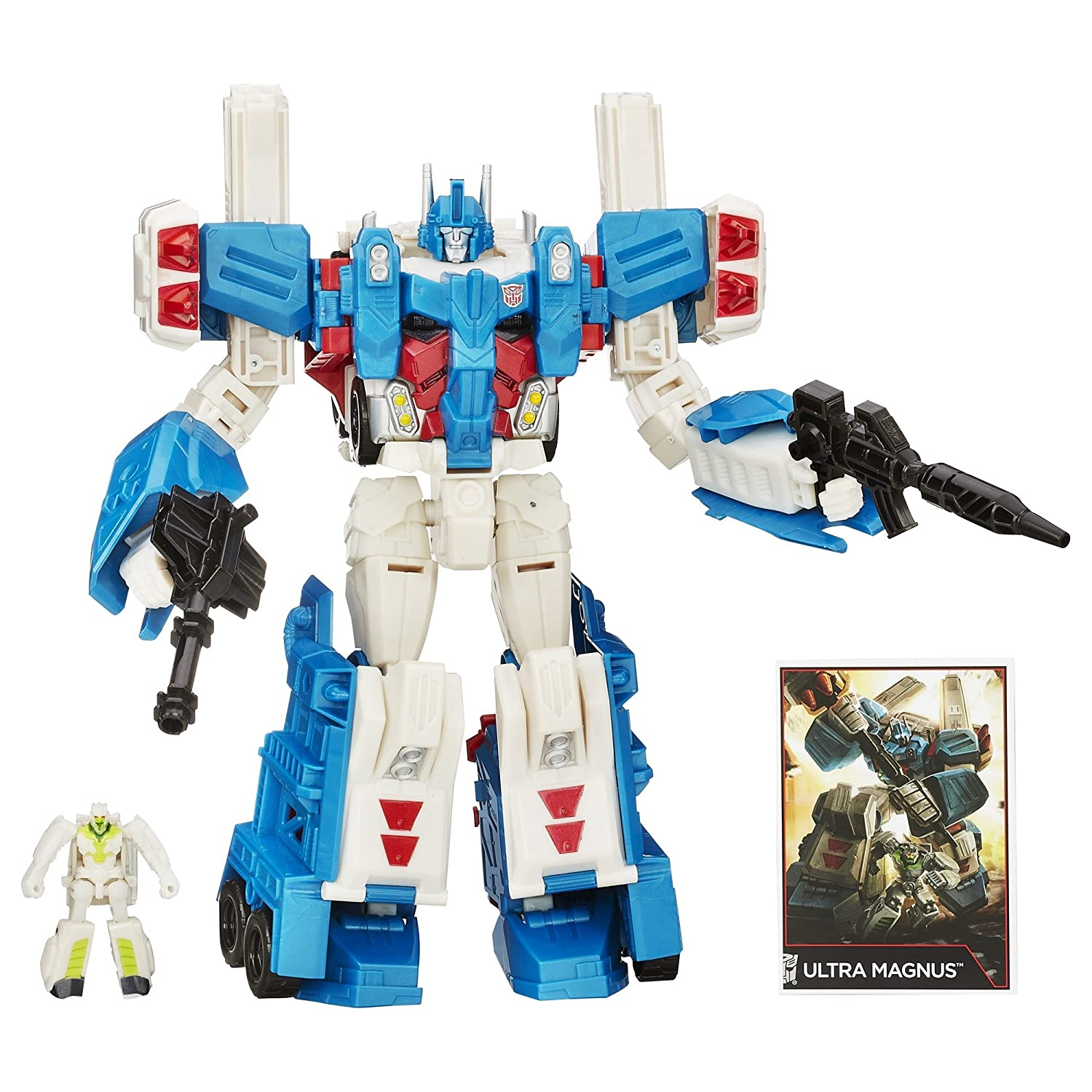 Transformers Generations Leader Class Ultra Magnus Figure дневник transformers