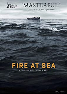 Book Cover:  Fire at Sea