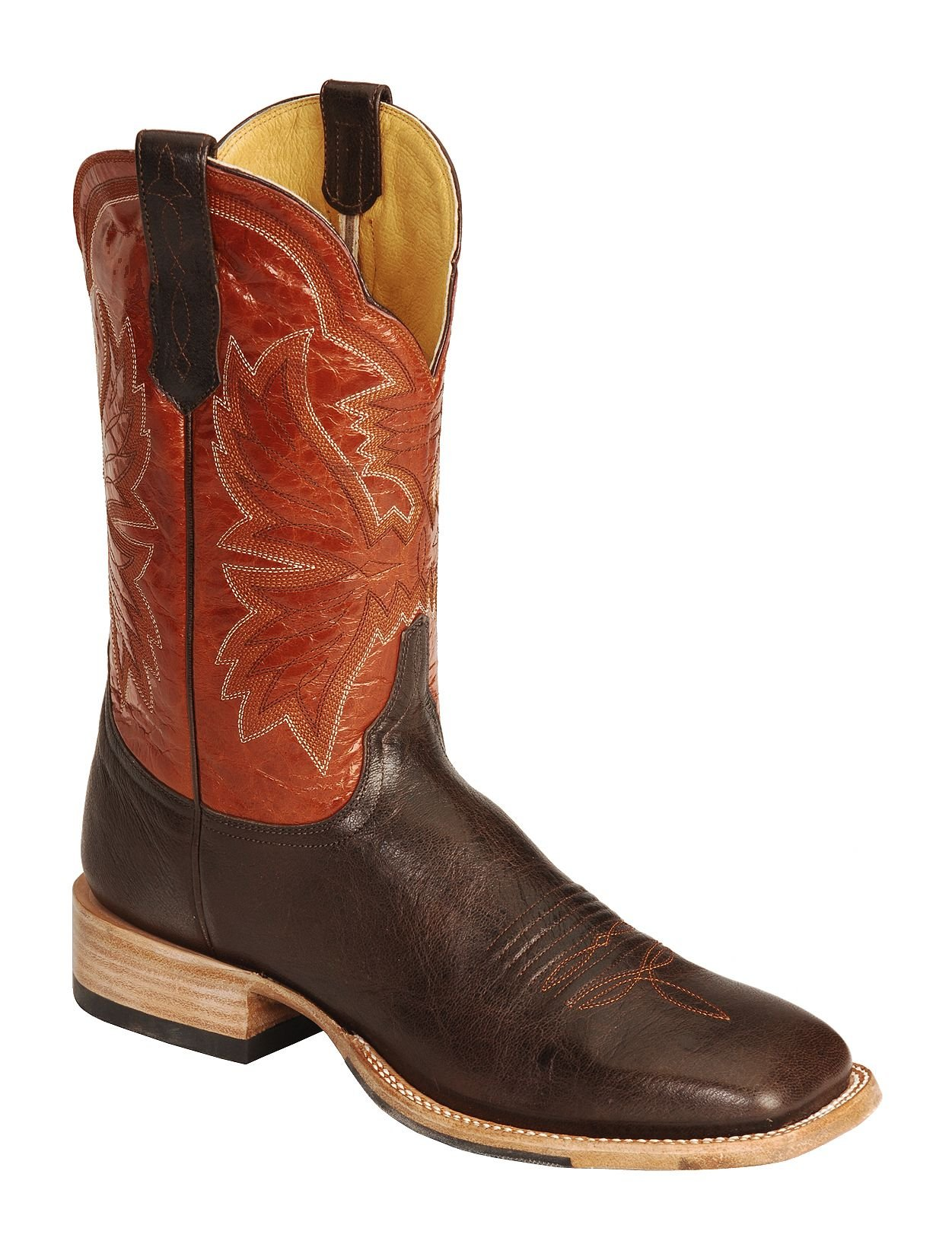 cinch men s classic western renegade cowboy boot square