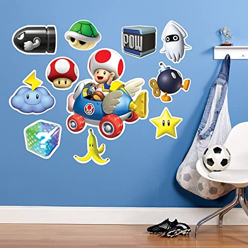 Mario Kart Wii Toad Giant Wall Decal