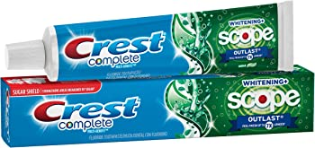 Crest Complete Multi-Benefit Whitening + Mint Toothpaste 5.8 oz.