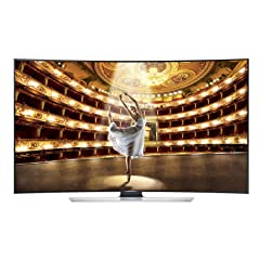Samsung UN65HU9000 Curved 65-Inch 4K Ultra HD 120Hz 3D Smart LED HDTV
