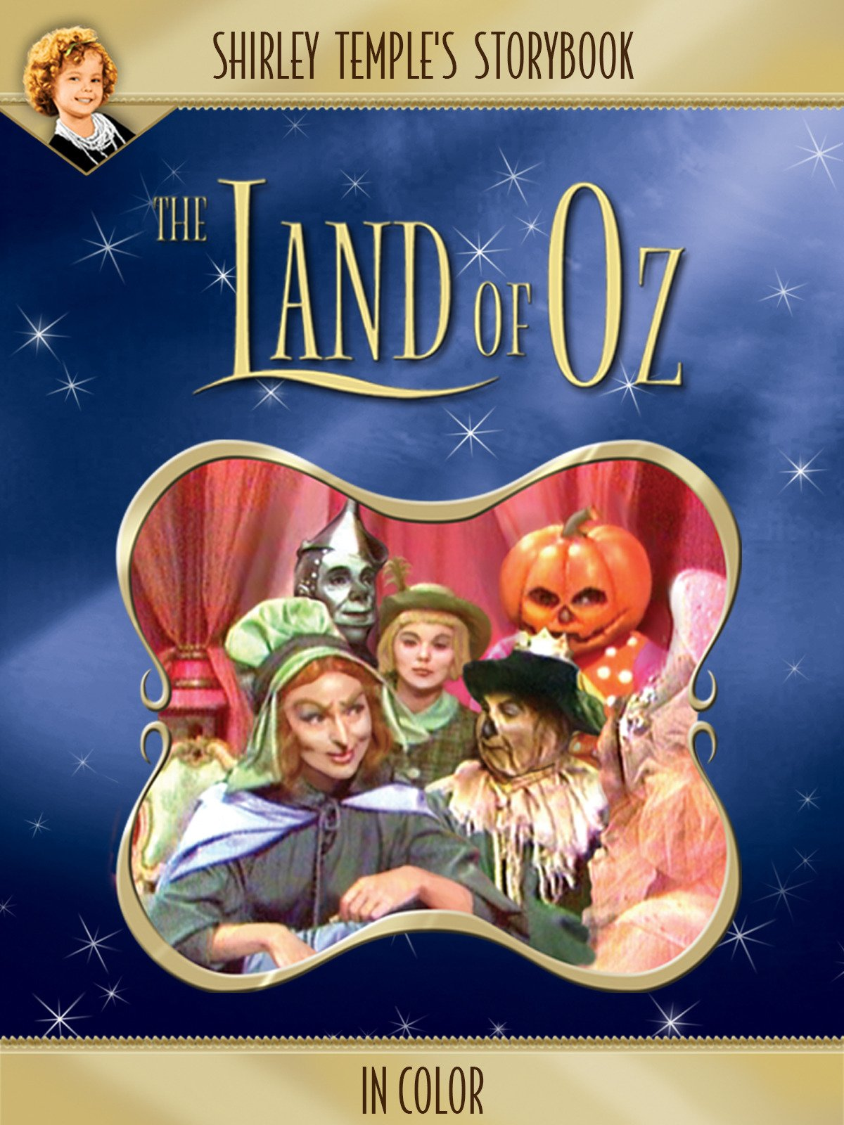 Shirley Temple's Storybook: Land Of Oz (in Color) on Amazon Prime Video UK