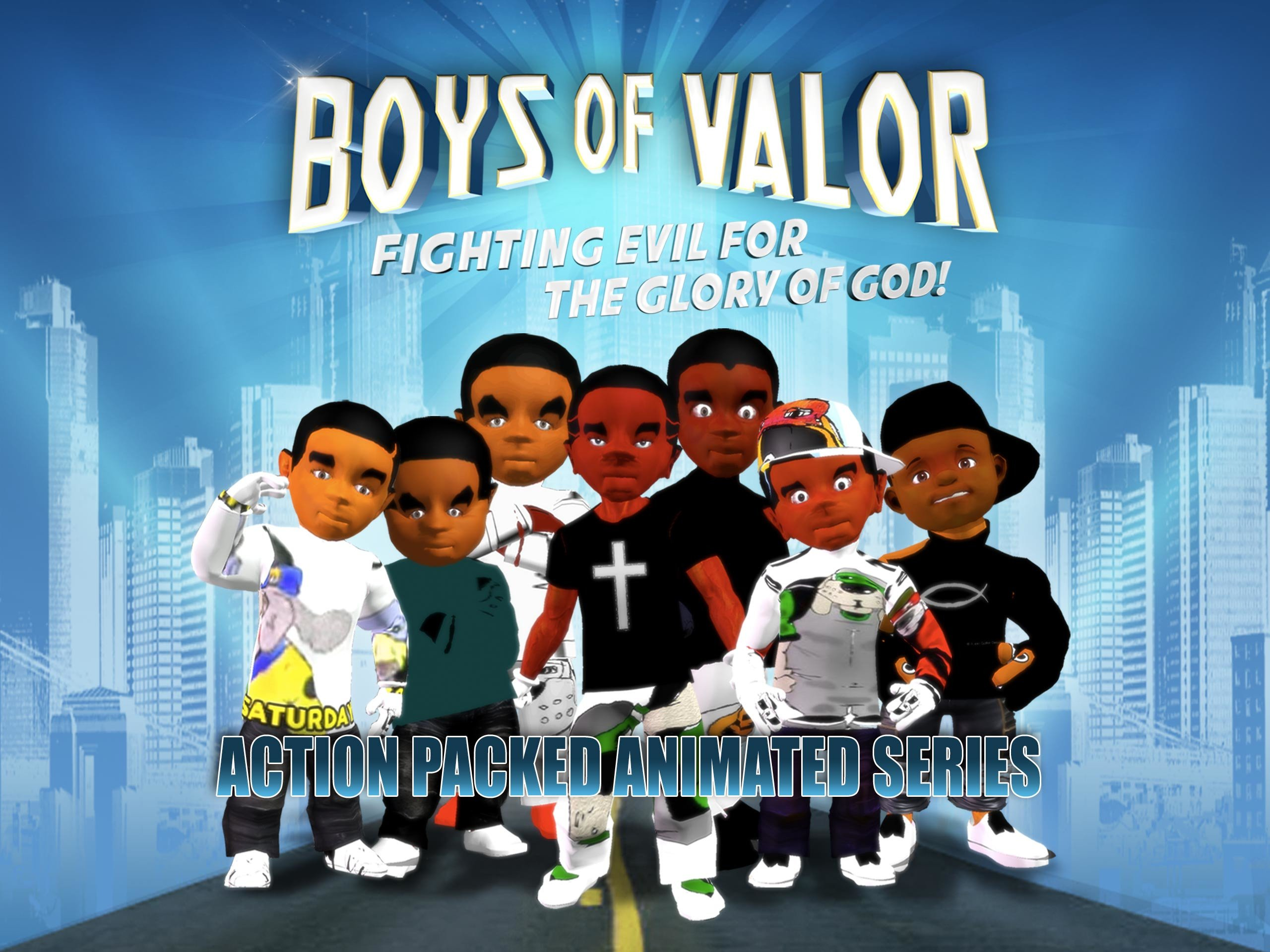 Boys Of Valor Series on Amazon Prime Instant Video UK