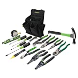 Greenlee 0159-12 Journeyman's Tool Kit, Standard (Tamaño: 17-Piece)