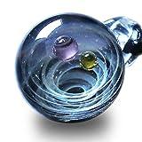 Pavaruni Galaxy Pendant Necklace, Universe Ball Glass,Starry sky Jewelry, Space Cosmos Design,Birthday (Pegasus) (Color: Pegasus, Tamaño: 75cm)