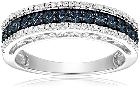 Sterling-Silver-Blue-and-White-Diamond-Anniversary-Ring-1-10-cttw-I-J-Color-I2-I3-Clarity-
