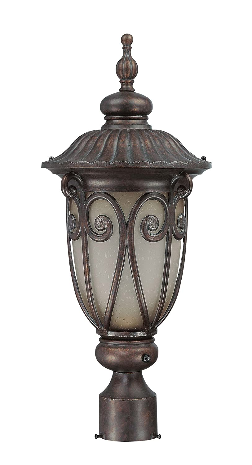 nuvo lighting 603929 corniche outdoor medium post lantern. Black Bedroom Furniture Sets. Home Design Ideas
