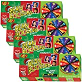 (Set/4) Jelly Belly Bean Boozled Naughty Or Nice Fun Christmas Spinner Game (Color: Multi-colored, Tamaño: 3.5 Ounces)