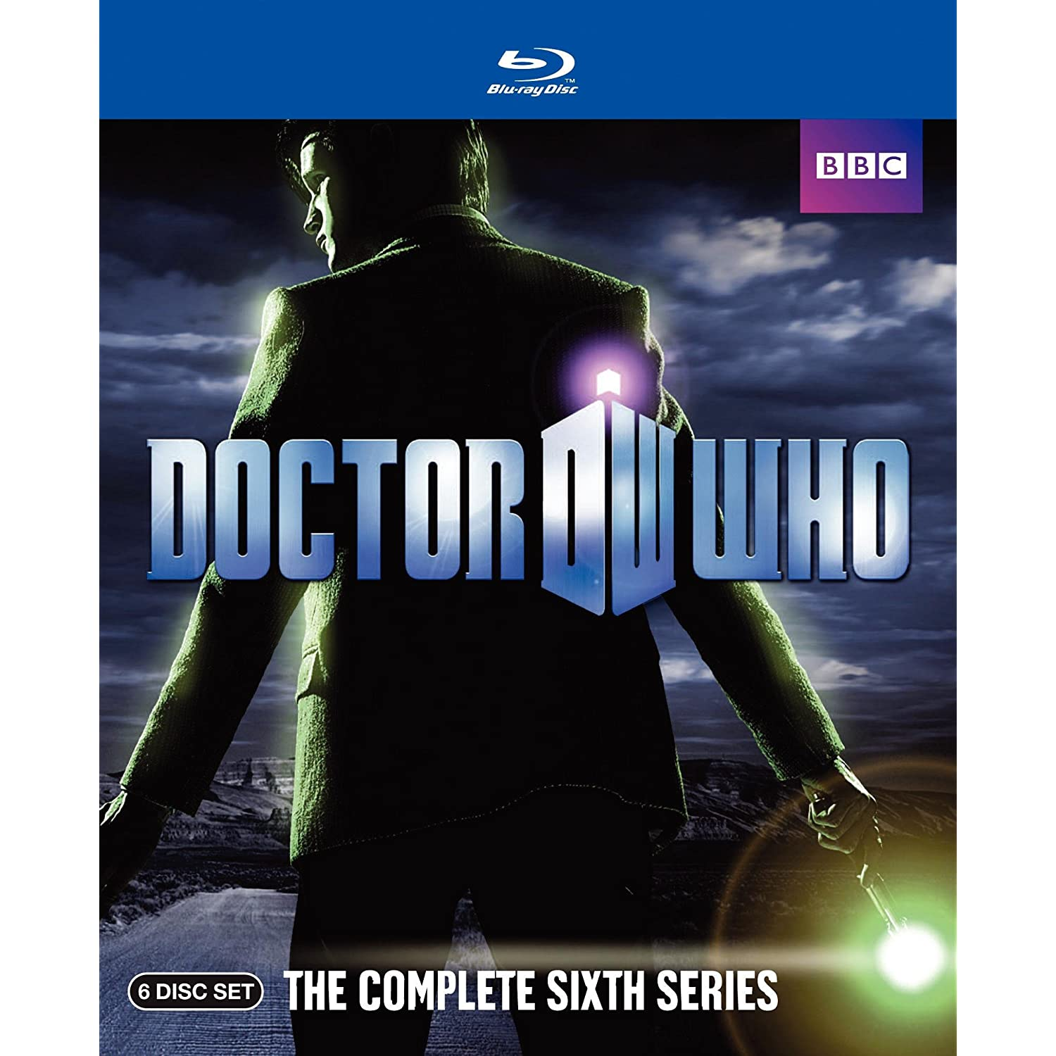 doctor who the complete sixth series blu-ray