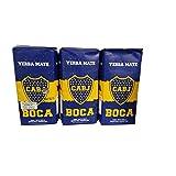 Cachamate Yerba Mate con Palo, with sticks 1.17 Lb-500g (Yerba Mate Boca Juniors) 3 pack
