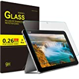 "KuGi Asus Transformer Mini T102HA screen protector - 9H Hardness HD clear Tempered Glass Screen Protector for ASUS 10.1"" Transformer Mini T102HA-D4-GR 2 in 1 Touchscreen Laptop (Clear) (Color: 1pcs)"