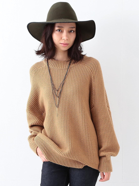 (レイビームス) Ray BEAMS / 5G ビッグシルエット クルーネック ニット 63150251551 キャメル ONE SIZE : 服&ファッション小物通販 | Amazon.co.jp