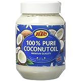 100% PURE KTC Coconut Multipurpose Oil Jar 500ml - Used for Cooking (Edible Oil), Hair Oil, Body (Skin Care) Moisturiser (Tamaño: 500)