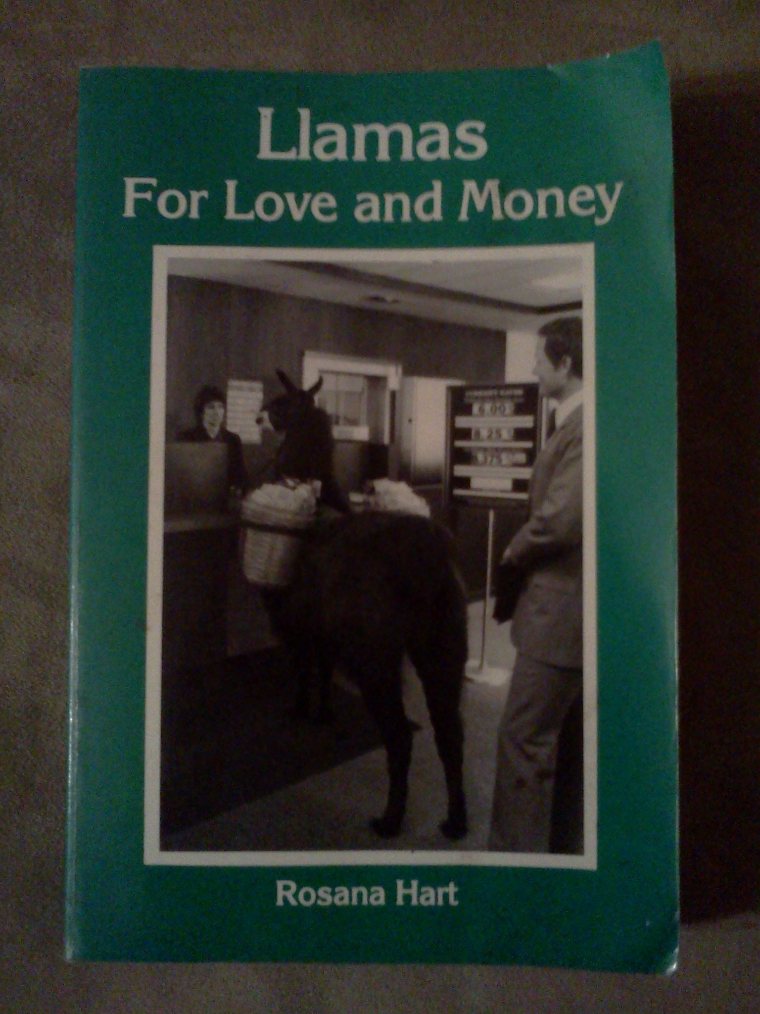 Llamas for Love and Money, Hart, Rosana
