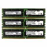 DDR4 Micron By A-Tech 48GB Kit 3 x 16GB 2Rx4 PC4-17000 Dell PowerEdge R730xd R730 R630 T630 R430 R530 C4130 SNP1R8CRC/16G A7910488 A7945660 370-ABUK SNP1R8CRC/16G-A1 1R8CR RDWTP 01R8CR Memory RAM (Tamaño: 48GB Kit 3x 16GB Dual Rank)