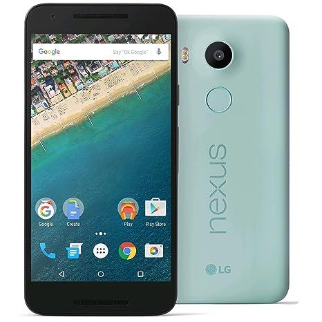Smartphone - Google Nexus 5X (16 GB, Bleu glacier)
