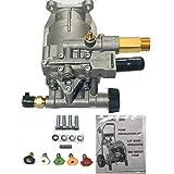 Homelite New 2700 PSI Pressure Washer Pump Replaces 308418007 Models HL252300, UT80522, UT80953, UT80522B, UT80953B, PS80522, PS80903B, UT80522A, UT80953A, UT80522D, UT80522E Includes 5 New QC Nozzles