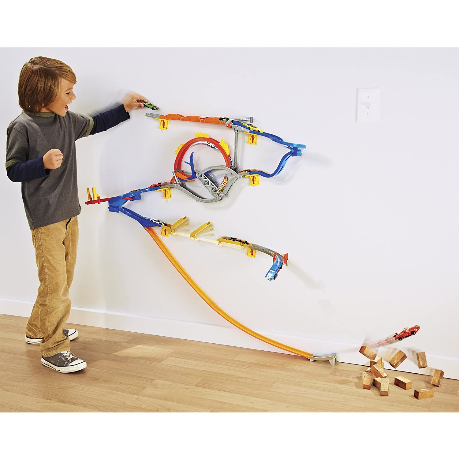 Hot Wheels Wall Tracks Review Toy Buzz