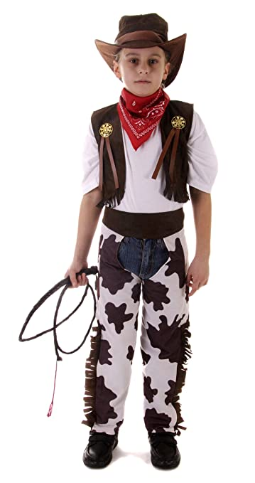 cowboy kost m mit hut western fasching karneval verkleidung kinder. Black Bedroom Furniture Sets. Home Design Ideas