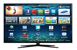 810G5R8f0jL. SX300  tv reviews   Samsung UN46ES6500 46 Inch 1080p 120Hz 3D Slim LED HDTV (Black) best deal