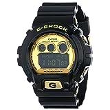 Casio Men's GD-X6900FB-1CR G-Shock Digital Display Quartz Black Watch (Color: Black/Gold, Tamaño: 57)