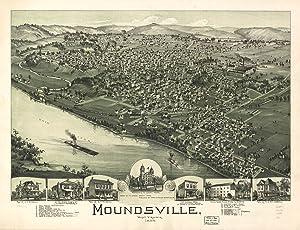 Moundsville Map,  1899
