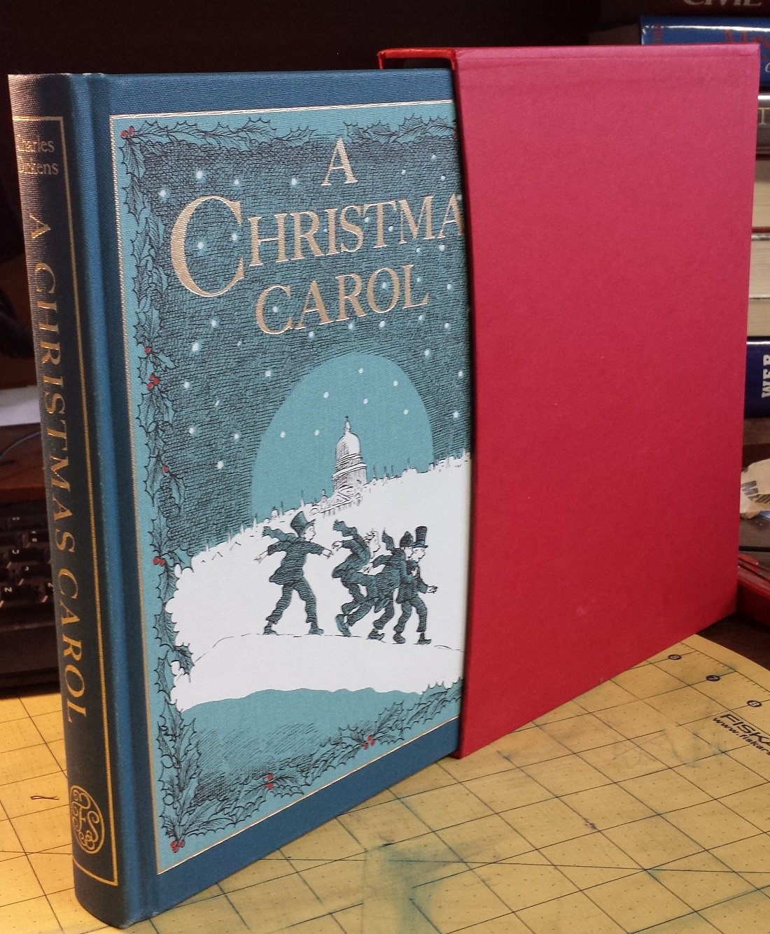 A CHRISTMAS CAROL In Prose  Being A Ghost Story of Christmas  Illustrated by Michael Foreman, Dickens, Charles