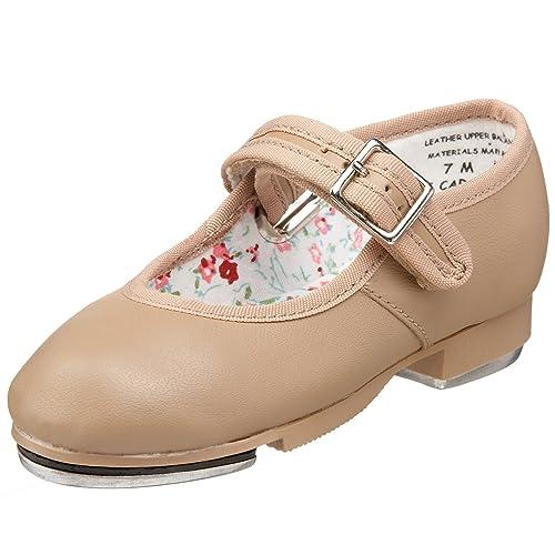 Kids' Authentic Capezio Little Kid/Big Kid 3800 Mary Jane Tap Shoe Discount Sale Colors