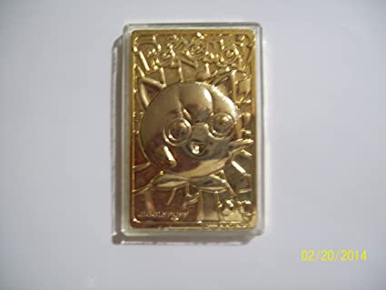 Gold Jigglypuff Card Image Unavailable