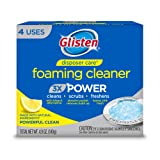 Glisten Disposer Care Foaming Cleaner, Lemon Scent, 4 Use